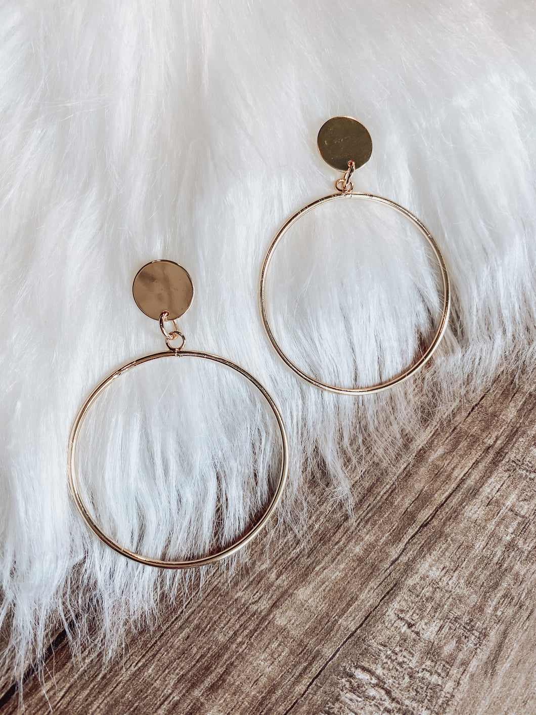 Classic With A Twist Hoop Earrings