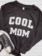 Load image into Gallery viewer, COOL MOM Burnout Pullover