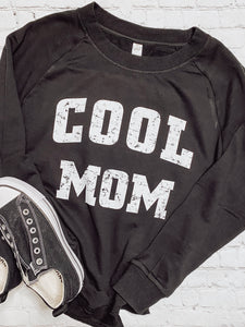 COOL MOM Burnout Pullover