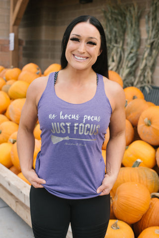 Just Focus Halloween Workout Tank