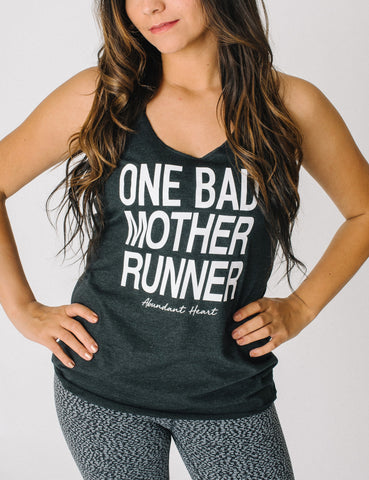 Mother Runner Tri-blend Tank
