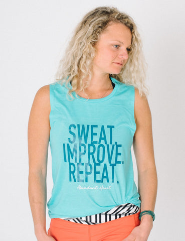 Sweat Improve Repeat Muscle Tank