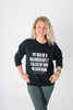 Balanced Diet Crew Neck Sweatshirt