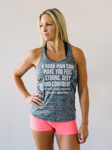 Exercise Is Bae Burnout Tank