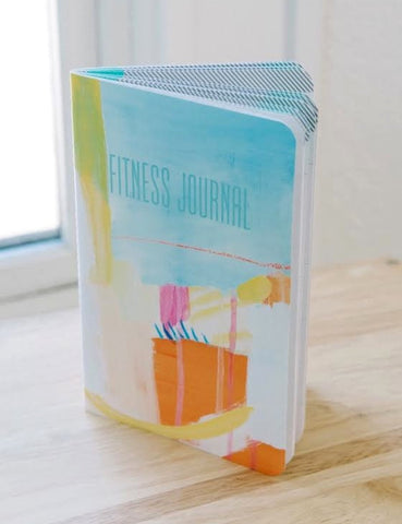 Fitness Journal - Orange Watercolor