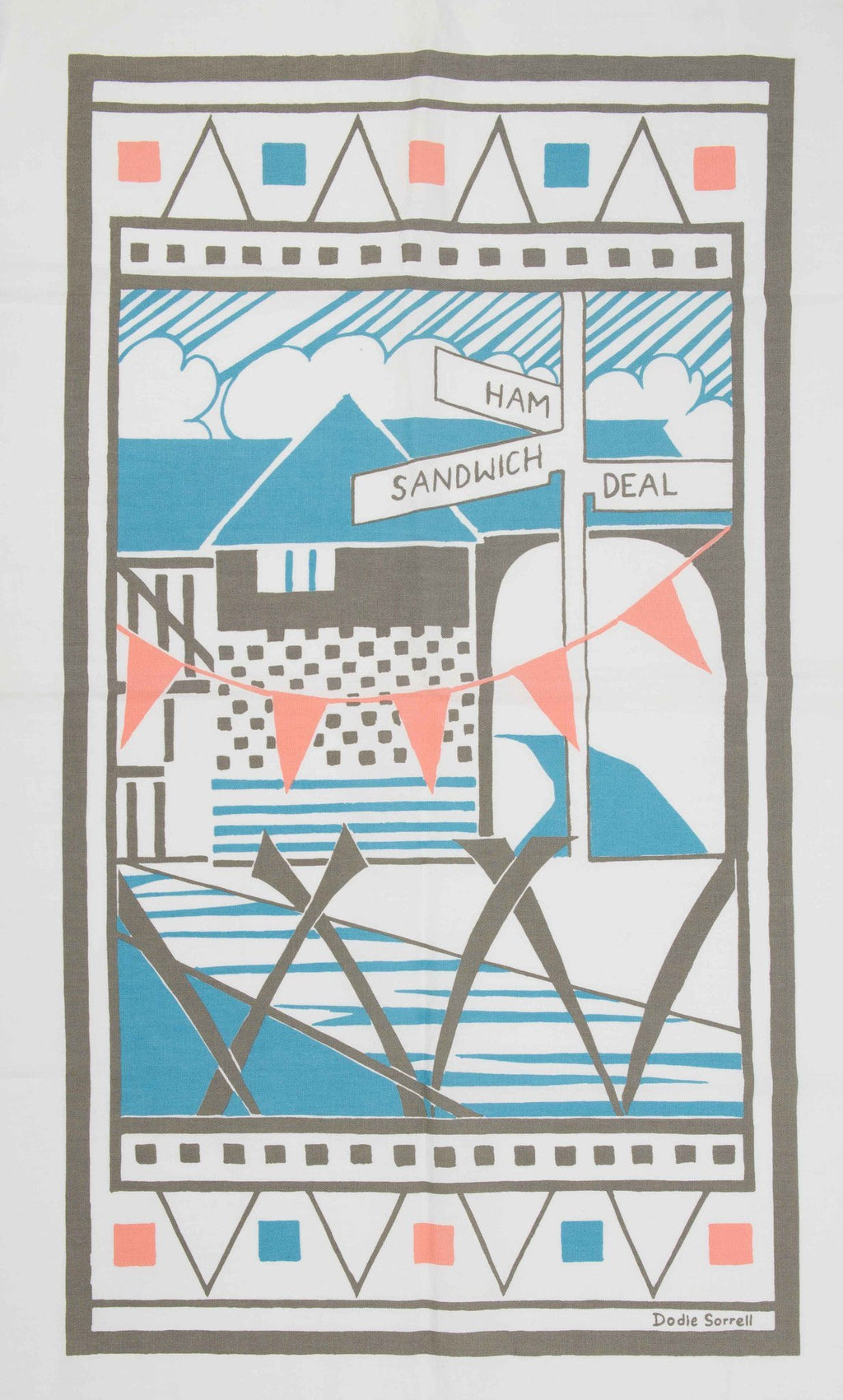 Ham Sandwich Tea Towel