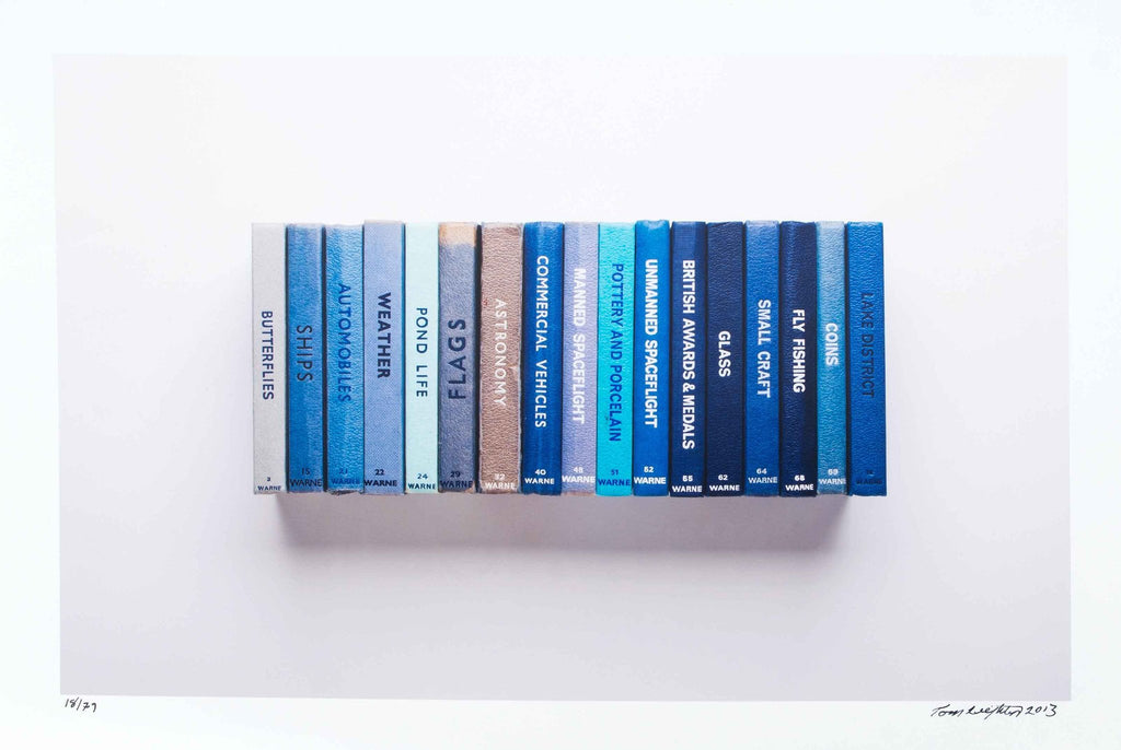 Observers Books Blue