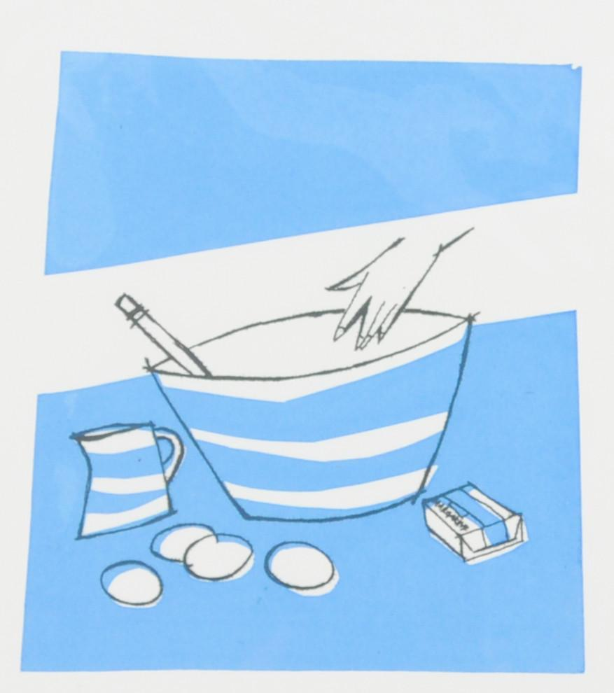 Jo Oakley Hand and Mixing Bowl print