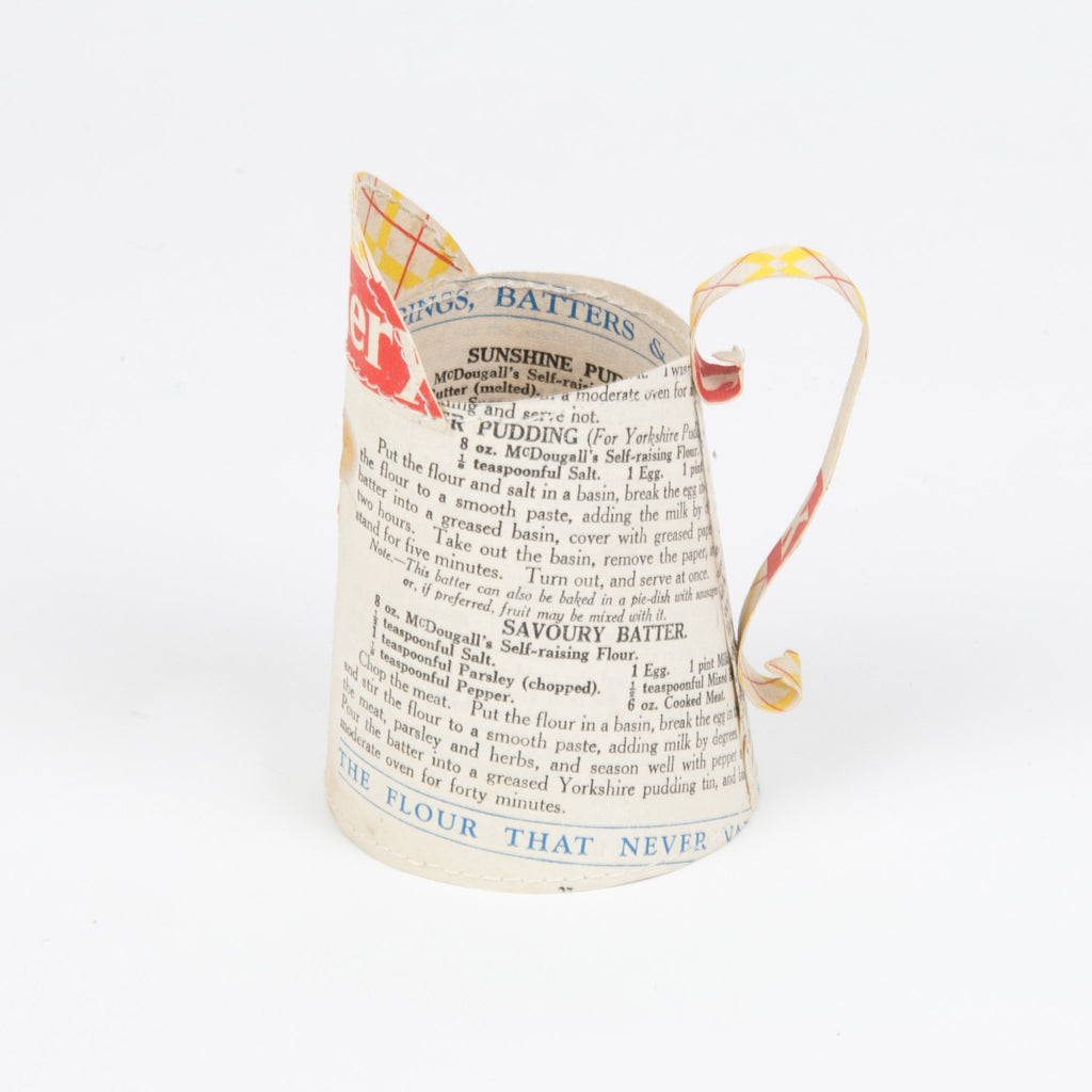 Jennifer Collier Paper Milk Jug