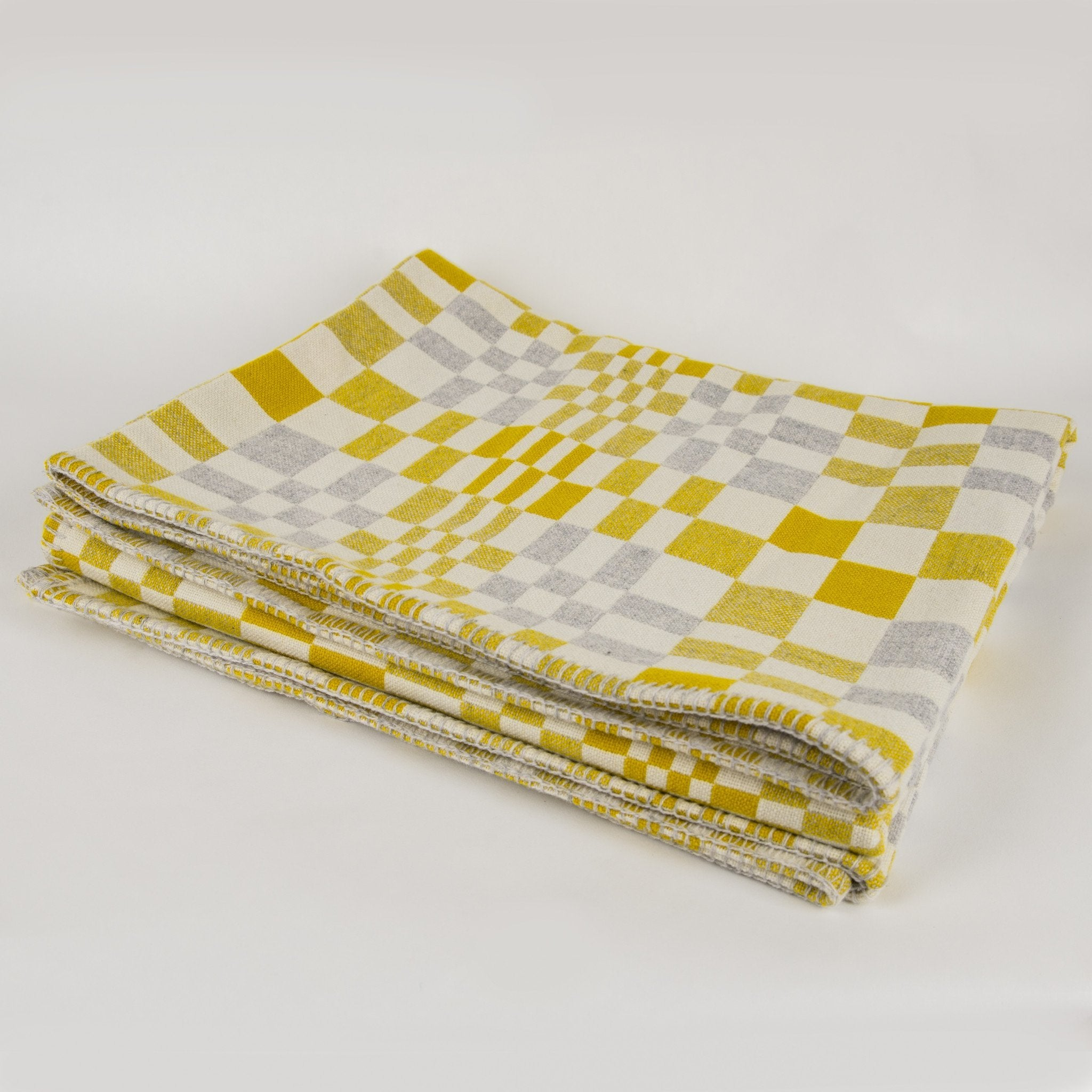 Eleanor Pritchard Sandstone Optic blanket