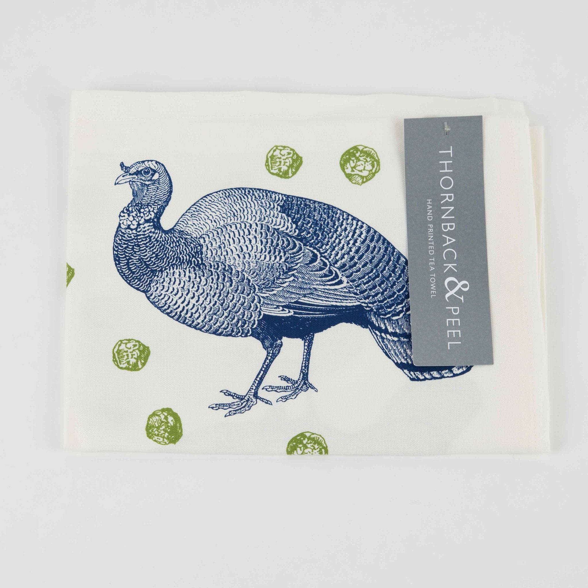 Thornback & Peel Turkey and Sprout Tea Towel