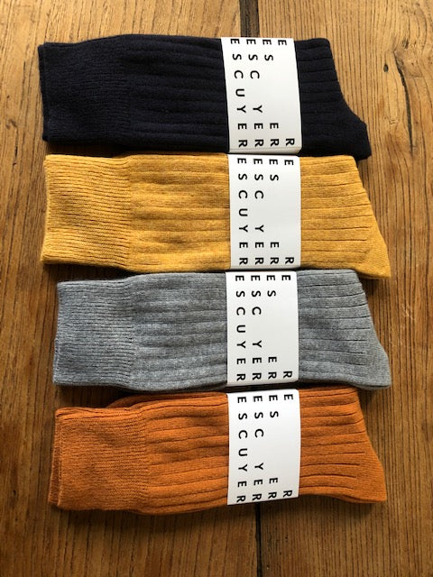 Escuyer Cashmere Mix Mens Socks