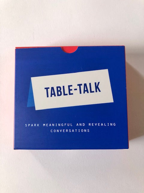 School of life Table Talk Placecards