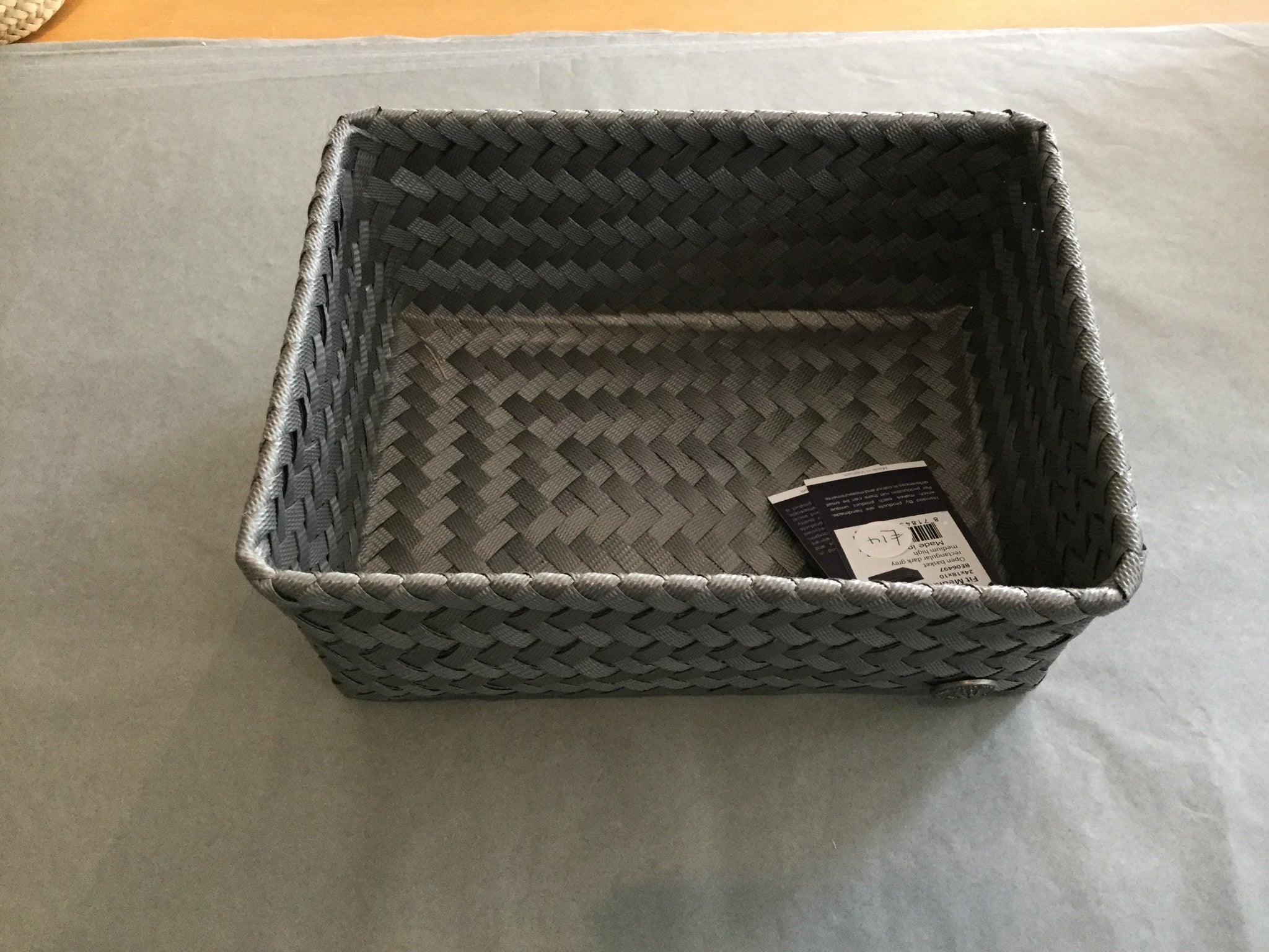 Recycled Plastic Storage Tray - medium High