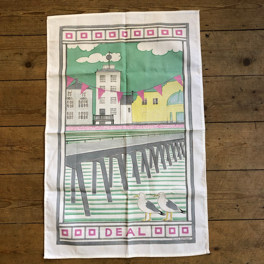 Deal Timeball Tower Tea Towel