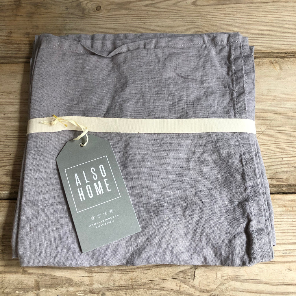 Linen Napkins - Pewter Grey