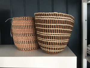 Traditional fine weave basket