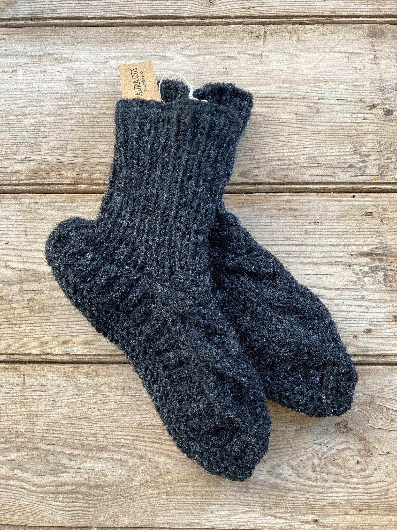 Slipper socks - Dark Grey