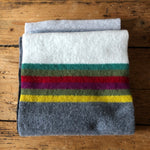 White and grey rainbow scarf