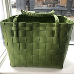Paris Recycled plastic shopper - Olive