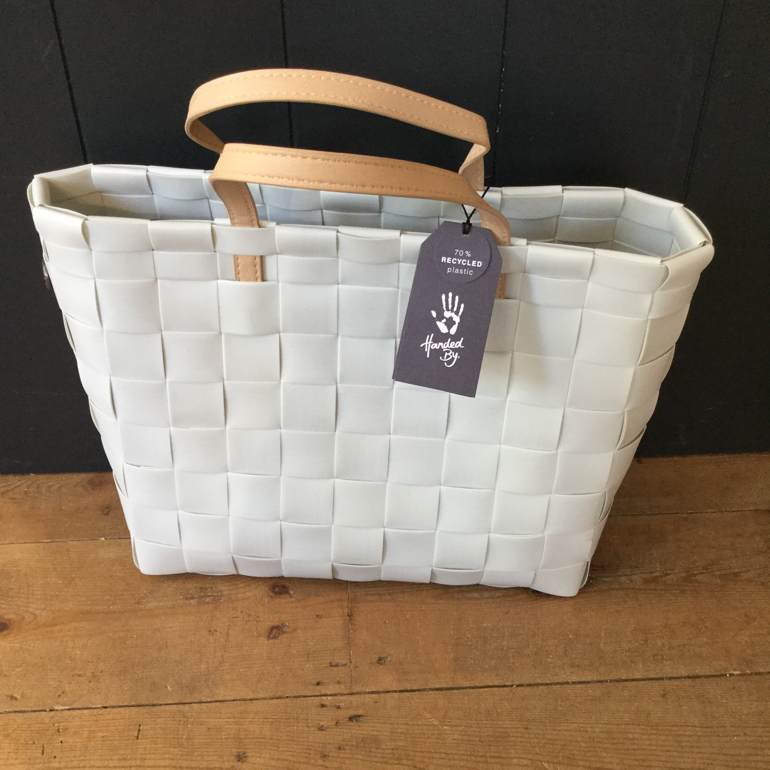 Pale Grey Petite Recycled plastic shopper