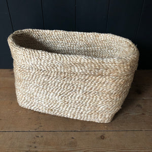 Jute Basket - Natural