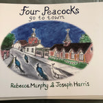 Four Peacocks go to Town Book