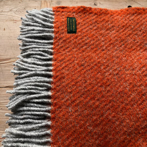 Tweedmill Boa Pumpkin Throw