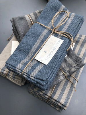 Weavers Green Linen Napkins