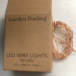 Christmas Wire Lights - Copper