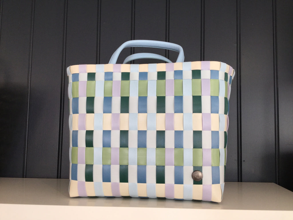 Green check Recycled plastic shopper