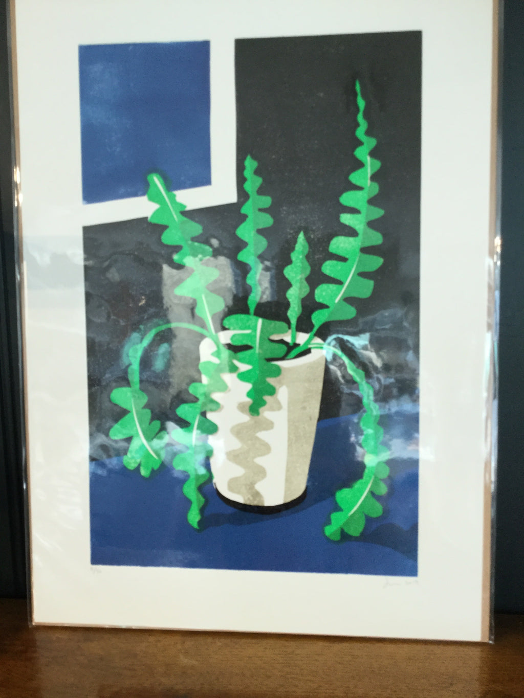 James Brown Fishbone Cactus print