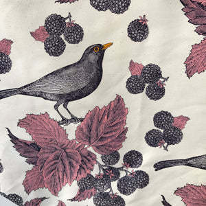 Thornback & Peel Blackbird and Bramble Tea Towel