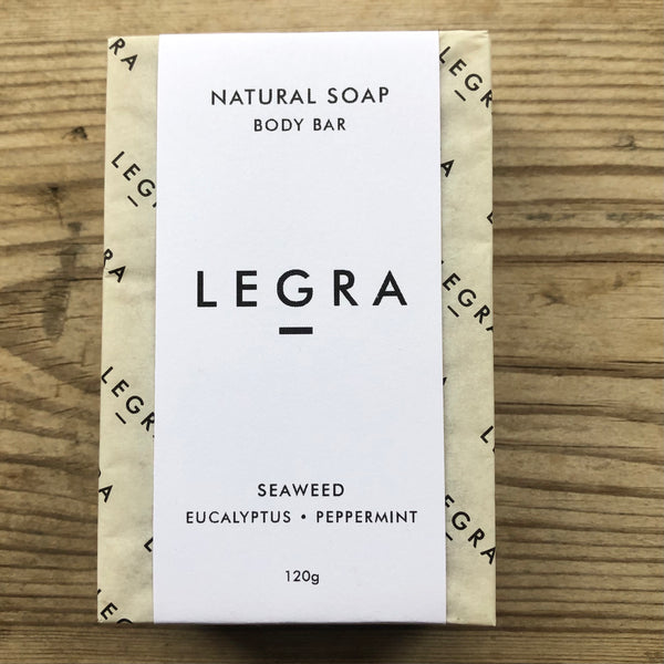 LEGRA soap Seaweed Soap with Eucalyptus & Peppermint