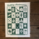 James Brown Wedding Anniversaries print