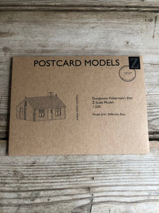 Postcard Models Dungeness House