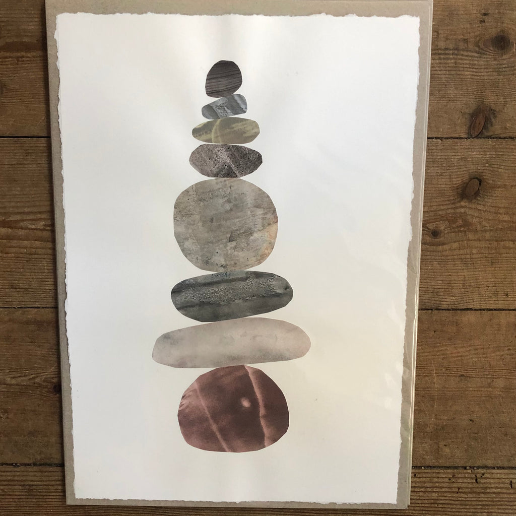 Warm Pebble Stack