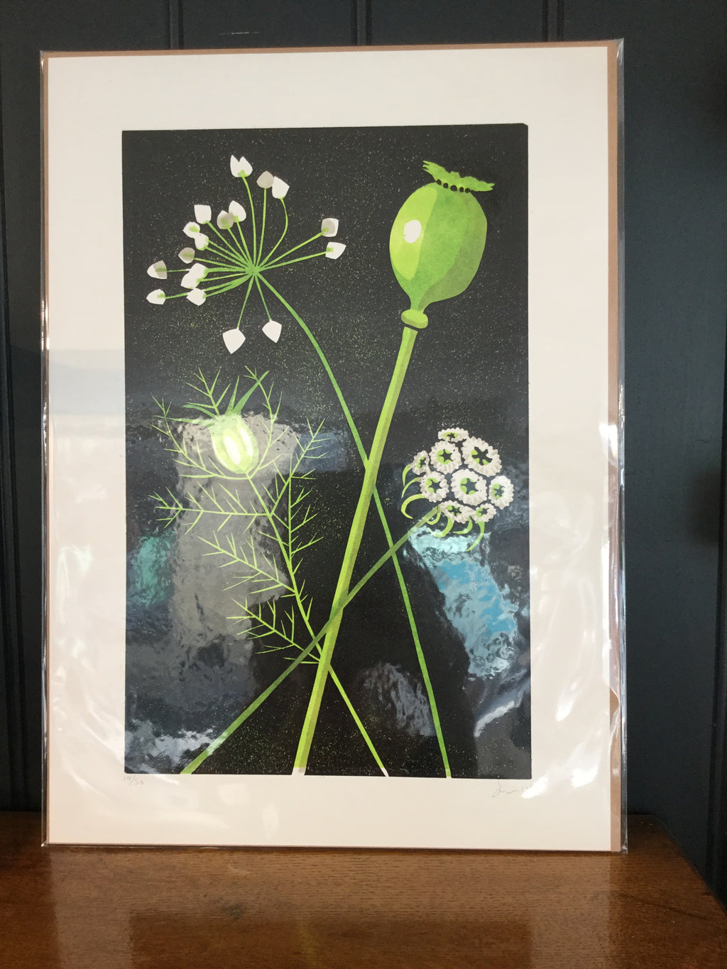 James Brown Seedheads print