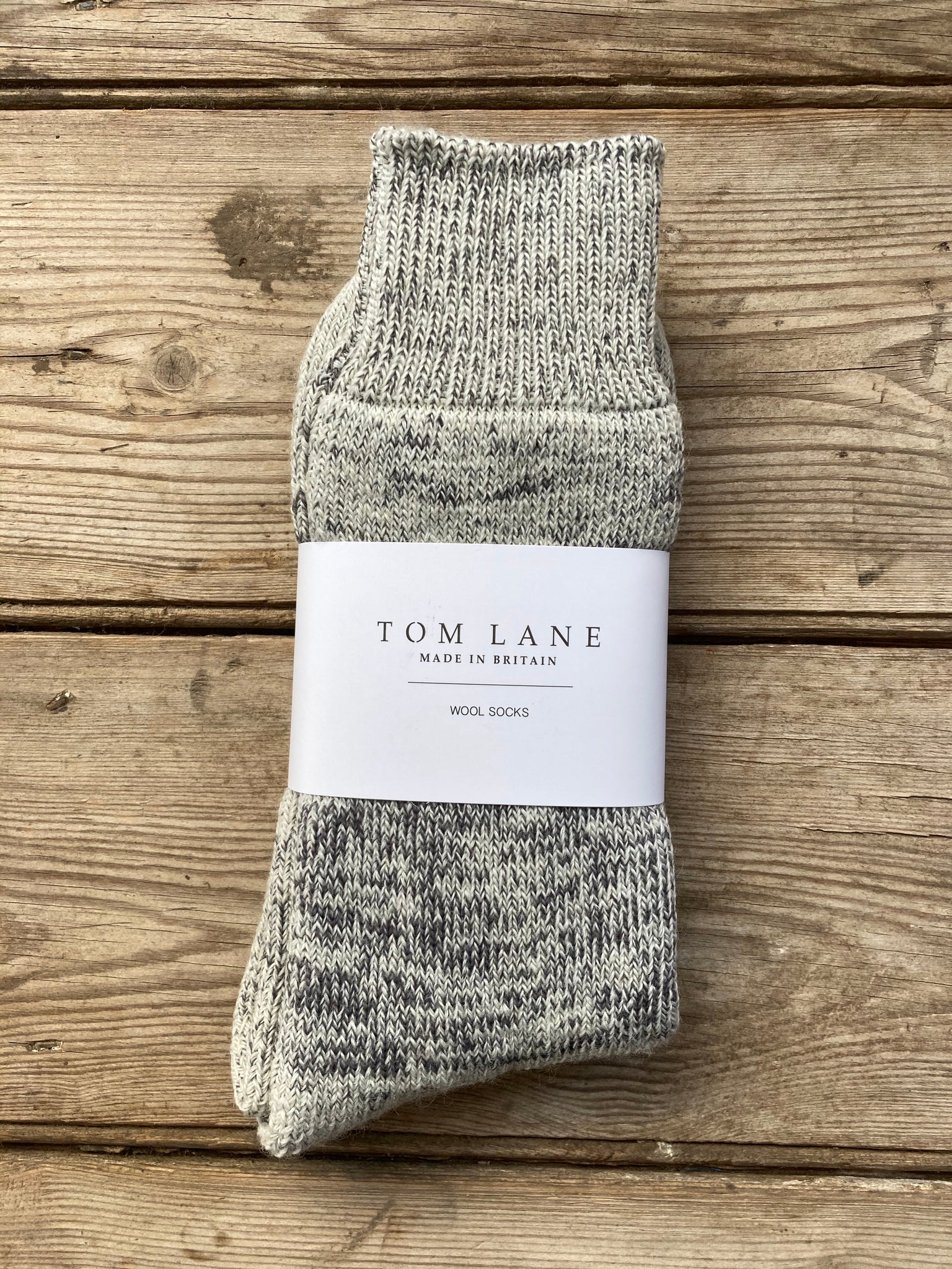 Tom Lane wool blend socks