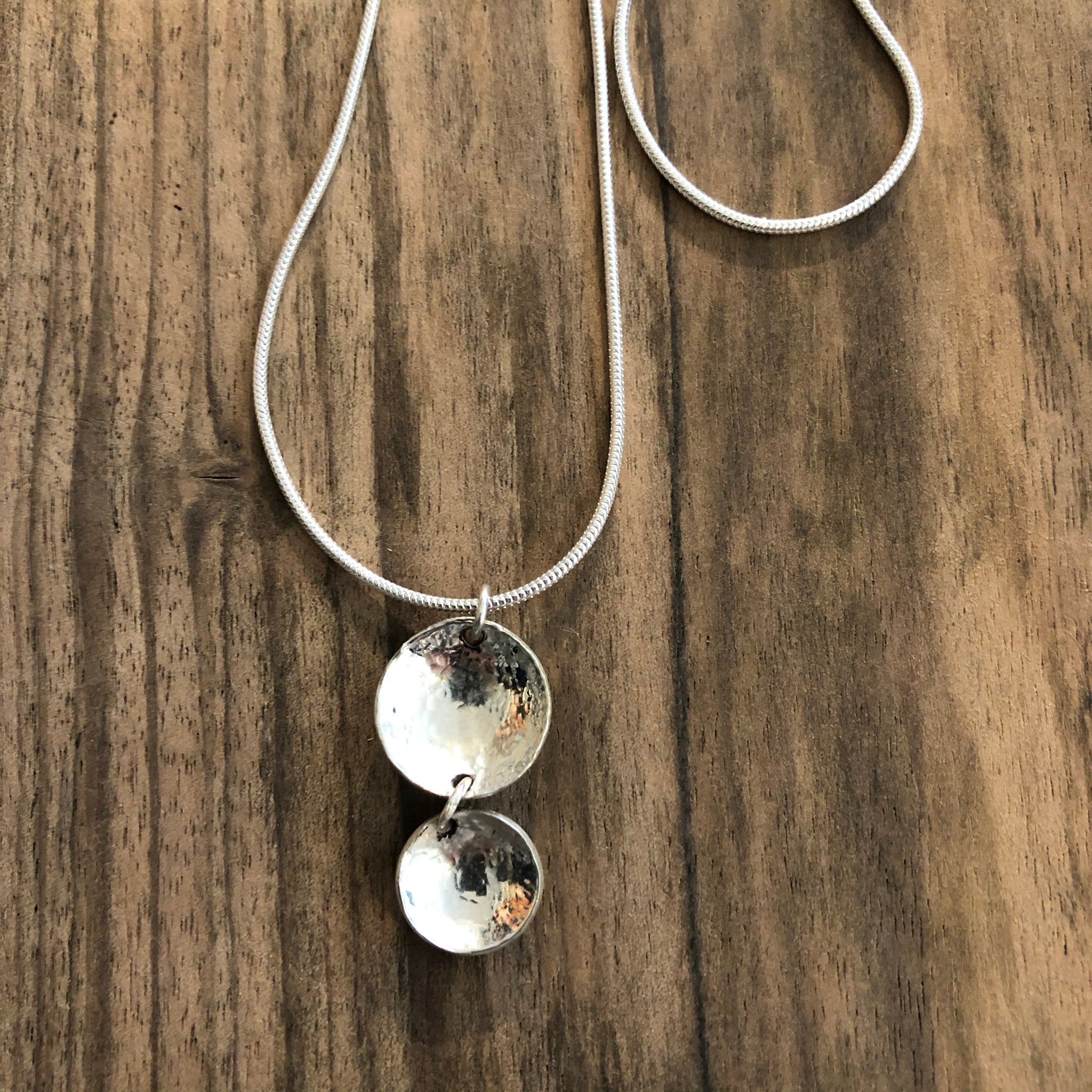 Two Bowl Necklace
