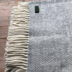 Tweedmill Beehive Silver Throw