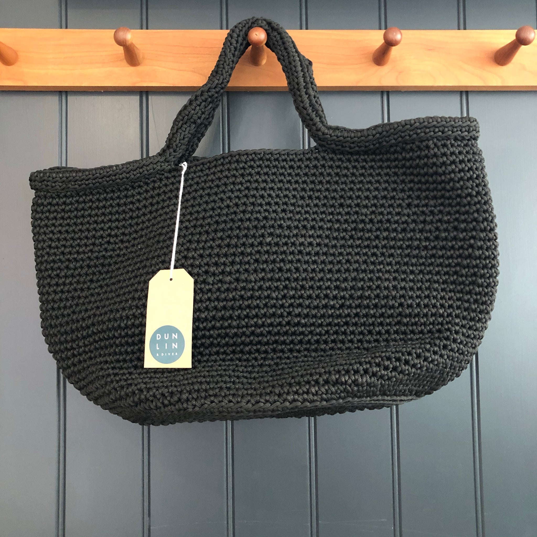 Crochet Nylon Bag