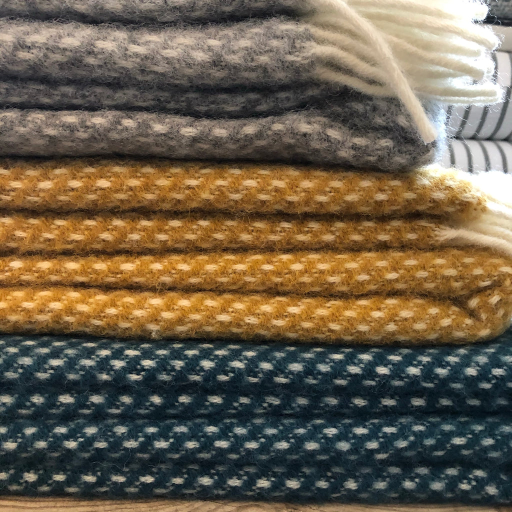 Preppy LambsWool Blanket