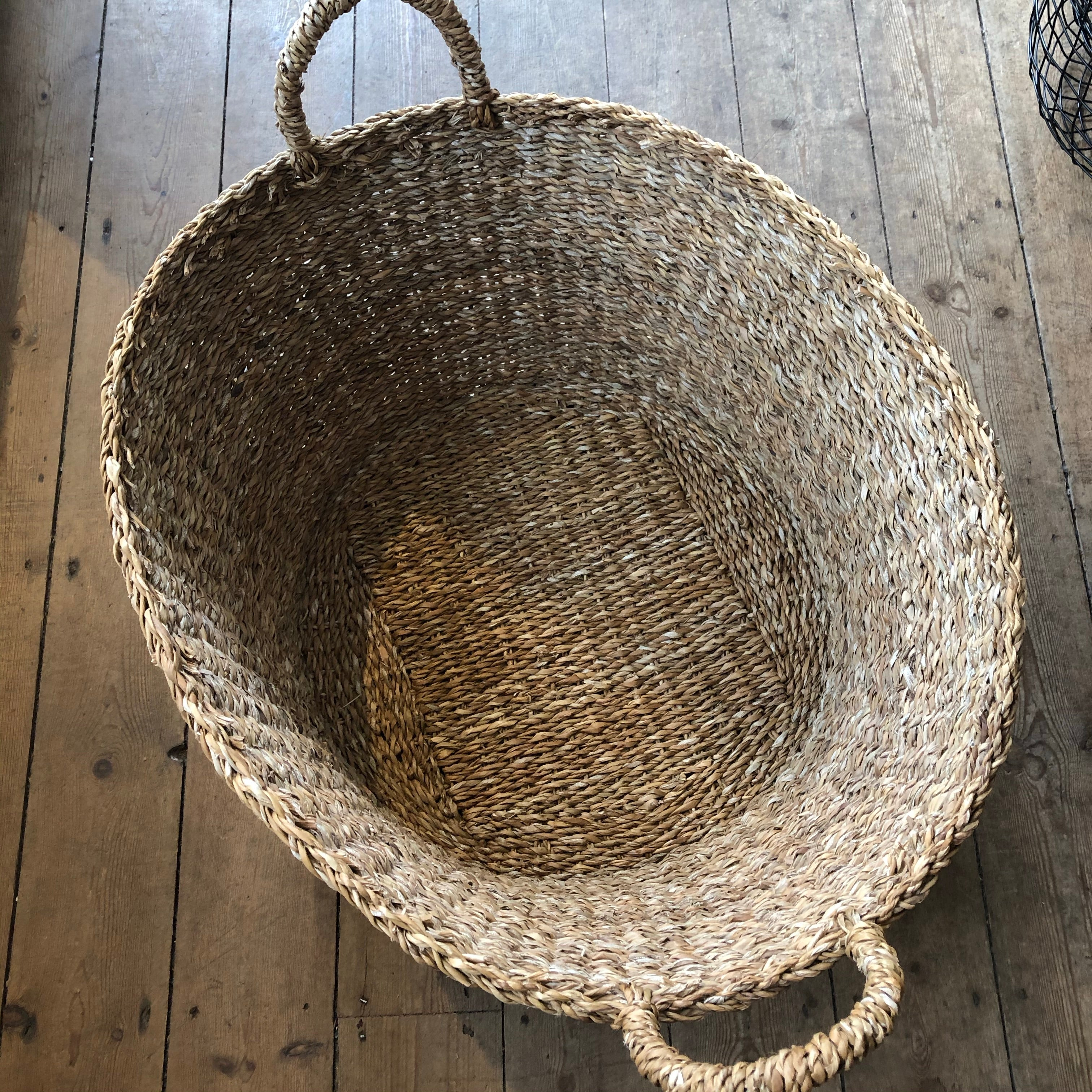 X Large Round Hogla Storage Basket