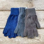 Wool men's gloves