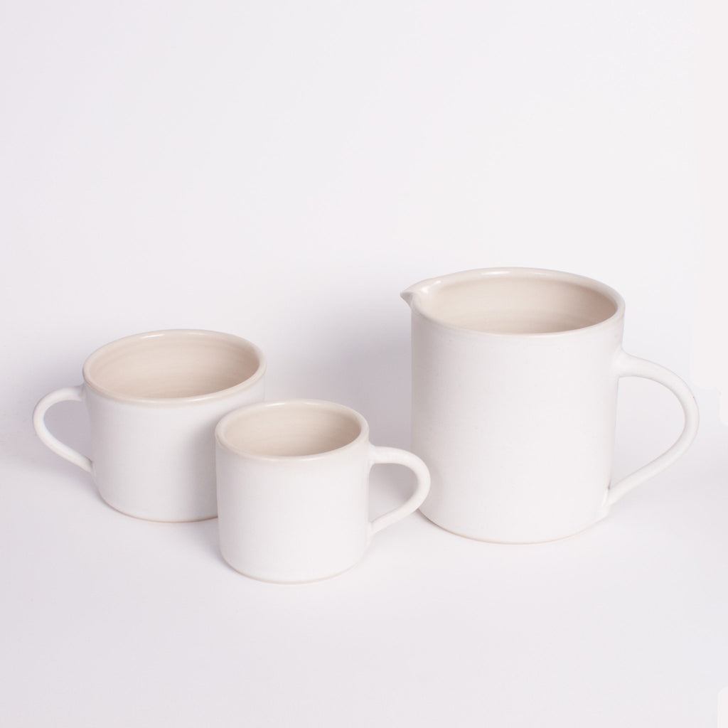 White Tea/Coffee Set