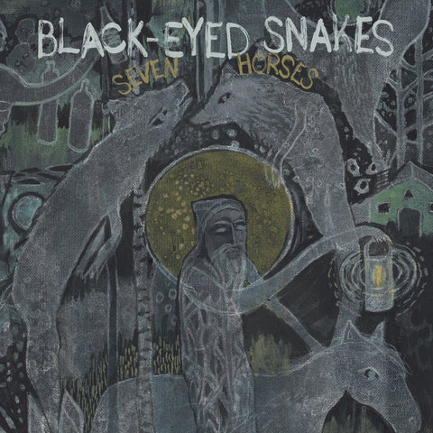 Black Eyed Snakes: Seven Horses (CD)