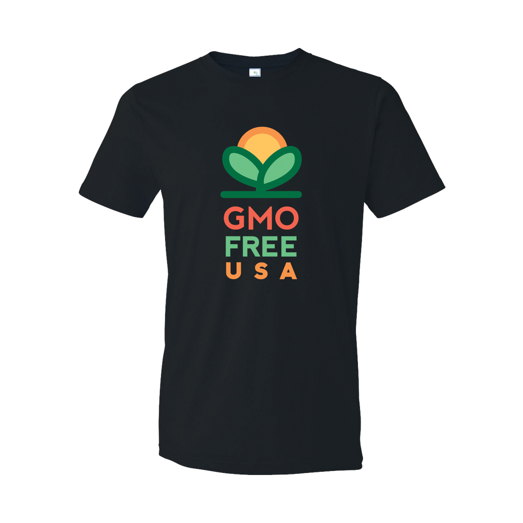 GMO Free USA Logo T-shirt | Ambient Inks American Made
