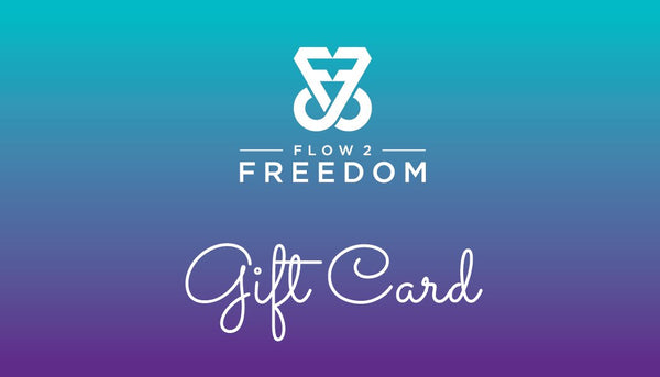 Flow 2 Freedom Apparel Gift Certificate