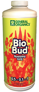 General Hydroponics® BioBud® 0.5 - 0.1 - 1 Quart - Quality-Grow-Hydroponics